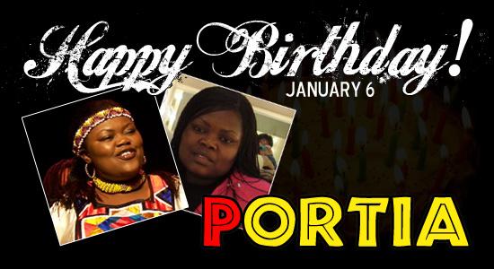 Happy Birthday Portia!