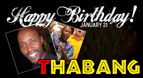 Happy Birthday Thabang!