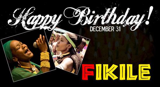 Happy Birthday Fikile!