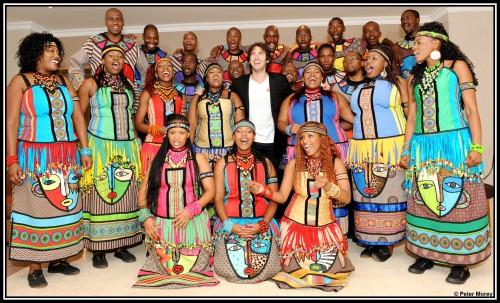 Soweto Gospel Choir with Josh Groban