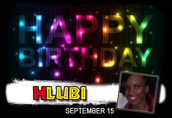 Happy Birthday Hlubi!