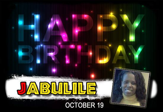 Happy Birthday Jabu!