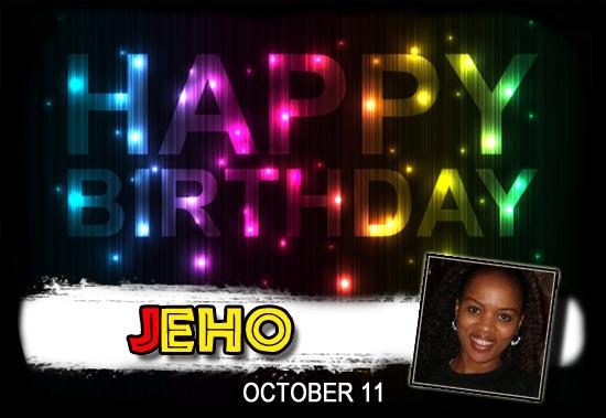 Happy Birthday Jeho!