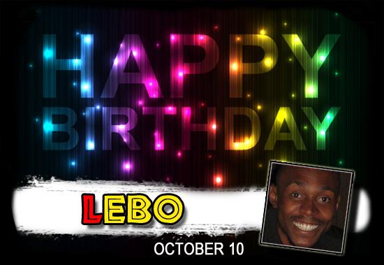 Happy Birthday Lebo!