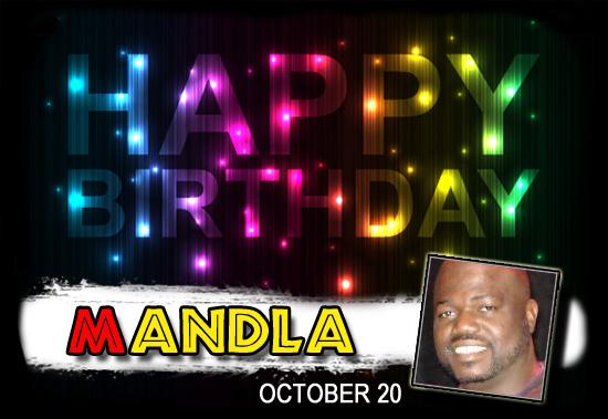 Happy Birthday Mandla!