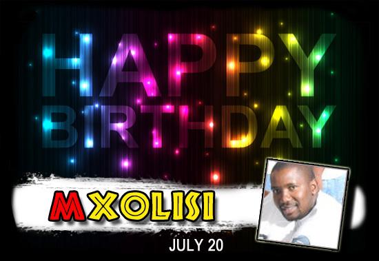 Happy Birthday Mxolisi