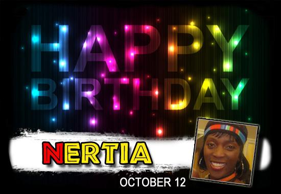 Happy Birthday Nertia!