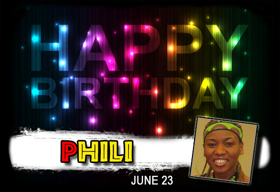 Happy Birthday Phili!