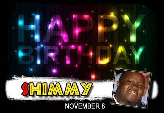 Happy Birthday Shimmy!