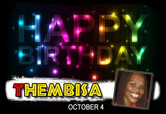 Happy Birthday Thembi!